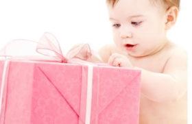 Regalo per la nascita del nipotino